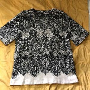 Jcrew shirt with a beautiful pattern size M